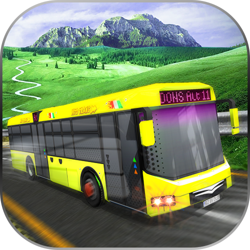Bus Racing Hill Climb Game