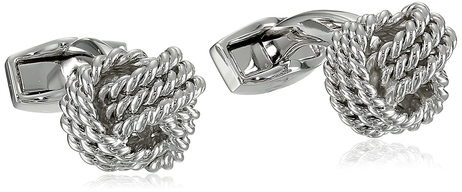 Tateossian Men's Business Set Knots Cufflinks Tateossian Jewelry CL1034