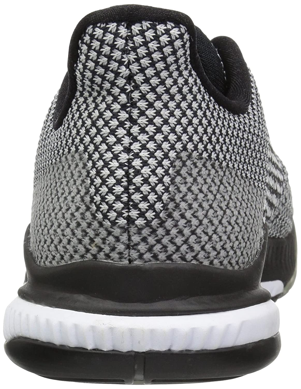 adidas Women's Crazyflight Bounce 2 Volleyball Shoe B077X4VB6M 6 B(M) US|Black/Silver Metallic/White