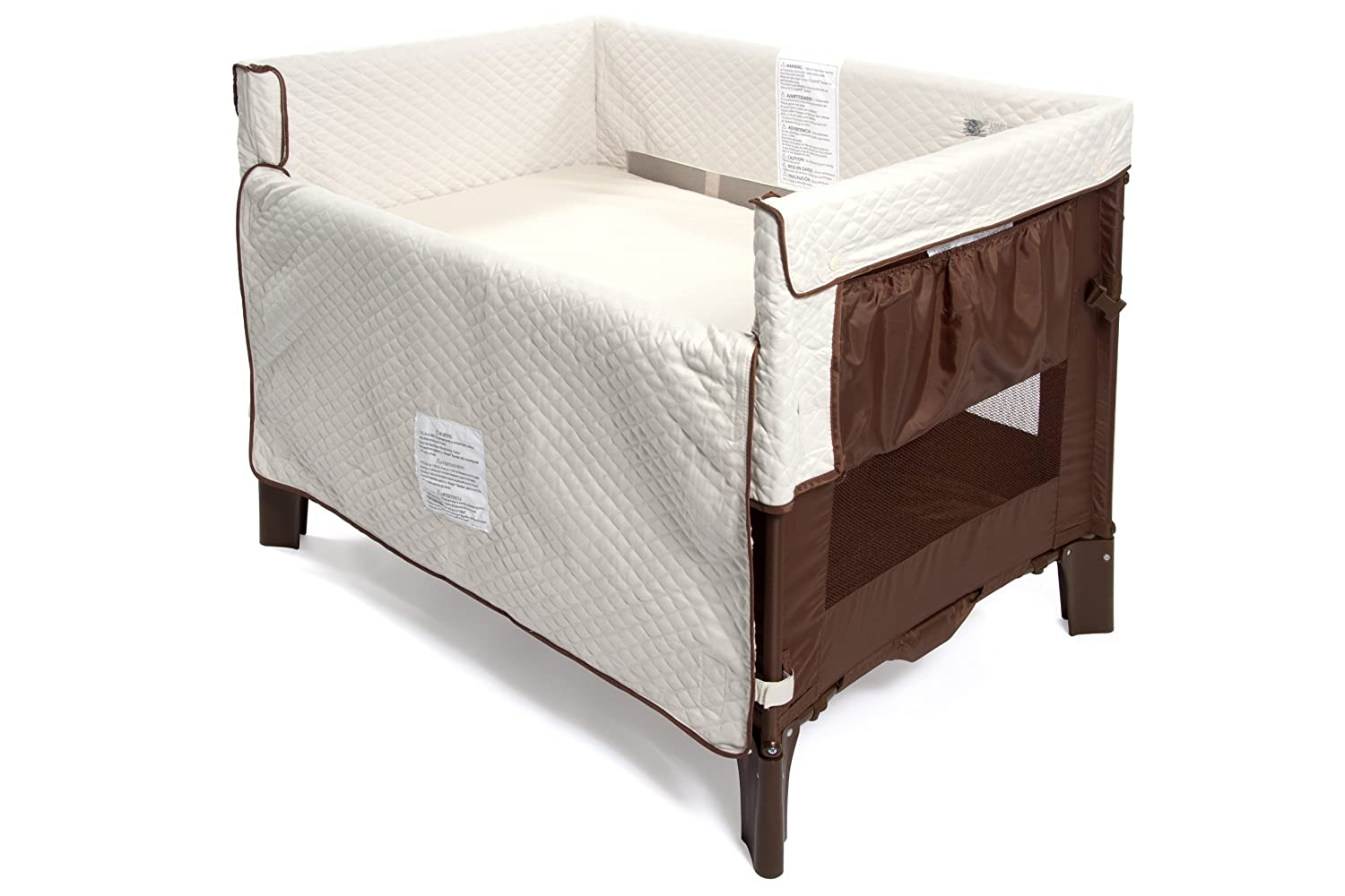 Amazon.com: Arm's Reach Co-Sleeper Original Bassinet, Coco Natural  (Discontinued by Manufacturer) (Discontinued by Manufacturer): Baby