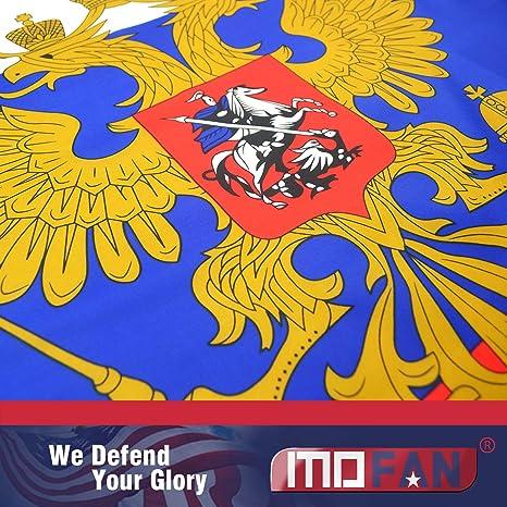 Mofan Imperial ruso Imperial Bandera Presidencial de poliéster ...