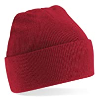 Beechfield Turn-up Beanie, Casquette de Baseball Mixte