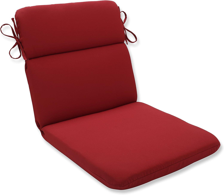 Pillow Perfect Outdoor/Indoor Pompeii Round Corner Chair Cushion, 40.5