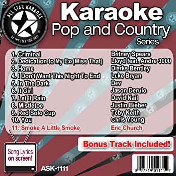 All Star Pop and Country Series ASK-1111