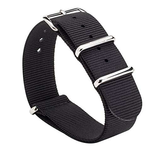 35 opinioni per Gemony Nato Strap Premium Ballistic Nylon Watch Band, Larghezza di banda