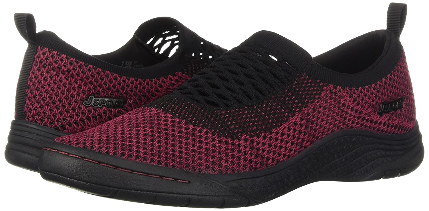 JSport by Jambu Women's Joy US|Mulberry Sneaker B078SH7CBG 7.5 B(M) US|Mulberry Joy 2b5564