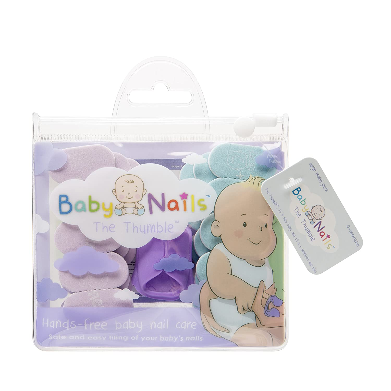 Baby Nails Unisex Nail Care NAILS001 NEWBABY-STDPACK