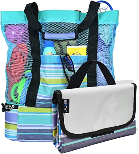 Raytix Breezy Convenient Mesh Beach Tote Bag