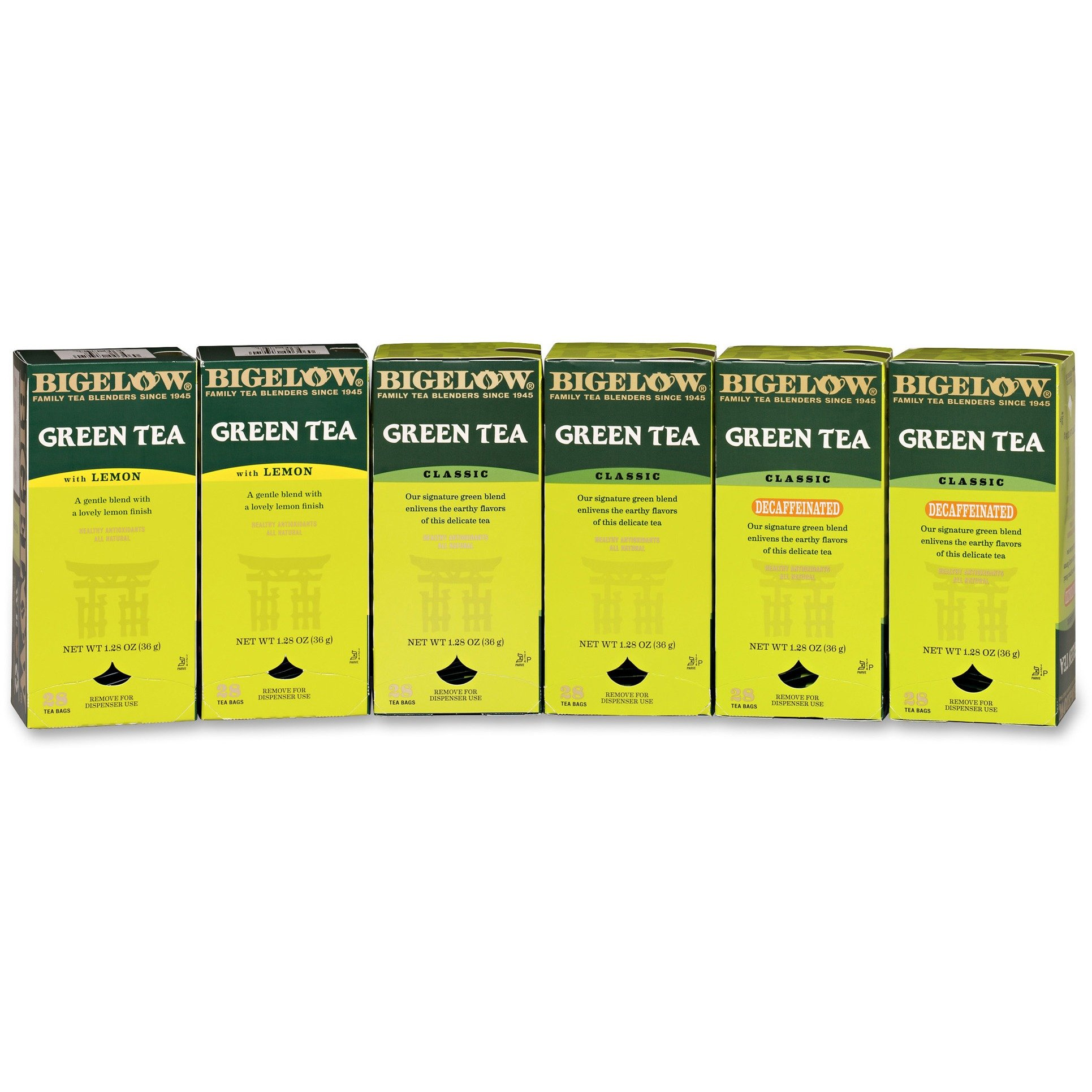 BTC10578 - Bigelow Tea Assorted Green Tea Bag by Bigelow Tea