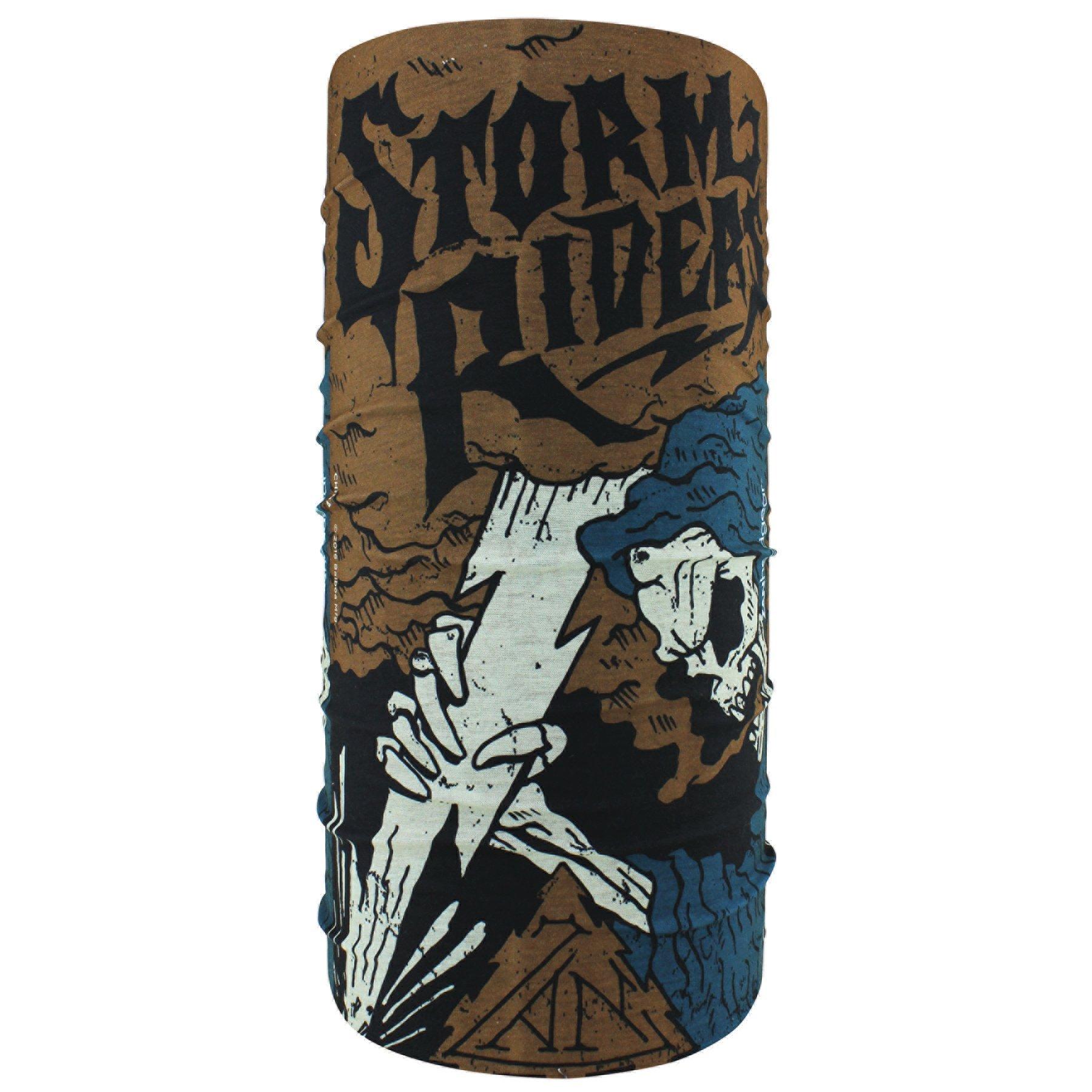 Zanheadgear T253 Motley Tube, 100% Polyester, Storm Reaper