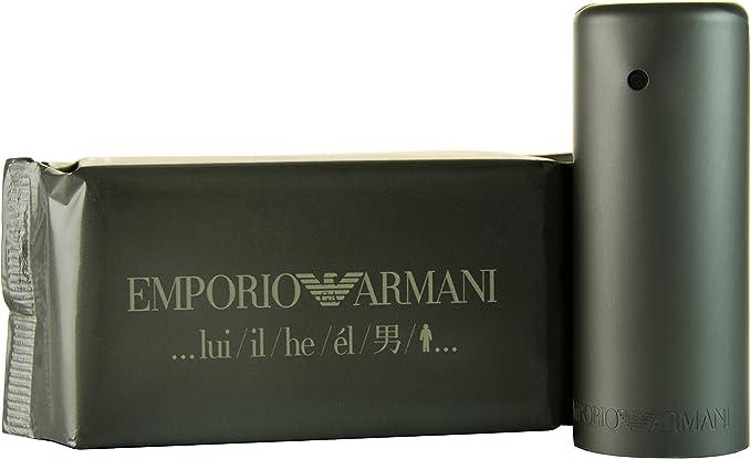 Emporio Armani Lui/IL/HE 30 ml Eau de Toilette Spray para él, 1er Pack (1 x 30 ml): Amazon.es: Belleza
