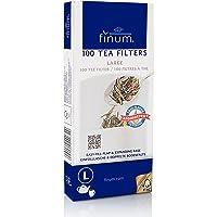 Finum - Filtros para té (Papel,100 Unidades, Talla