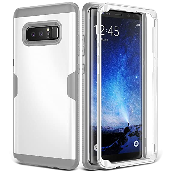 huge discount 394ca d3c5d Galaxy Note 8 Case, YOUMAKER Full Body Heavy Duty Protection Shockproof  Slim Fit Case Cover for Samsung Galaxy Note 8 (2017 Release) Without  Built-in ...