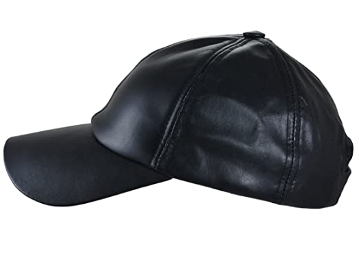 e4aeb6fa758e Thor Equine Leder Cap Basic Western Cap Basecap schwarz  Amazon.de ...