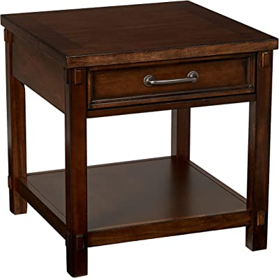 Amazon Com Broyhill Saluda Drawer End Table Kitchen Amp Dining