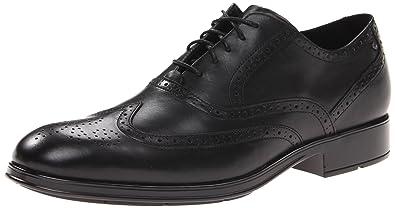 Rockport Men's Almartin Wingtip Tip Bal Oxford-Black-6.5 W