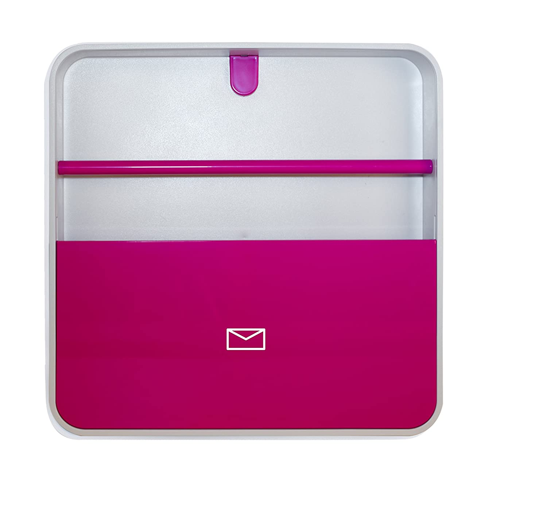 Paperflow Multiboxメールボックス ピンク B0742DJJ27 ピンク ピンク