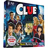 Clue Board Game; Features Fan Voted Room; As Seen on Houzz Website; Classic Mystery Game for Kids 8 and Up