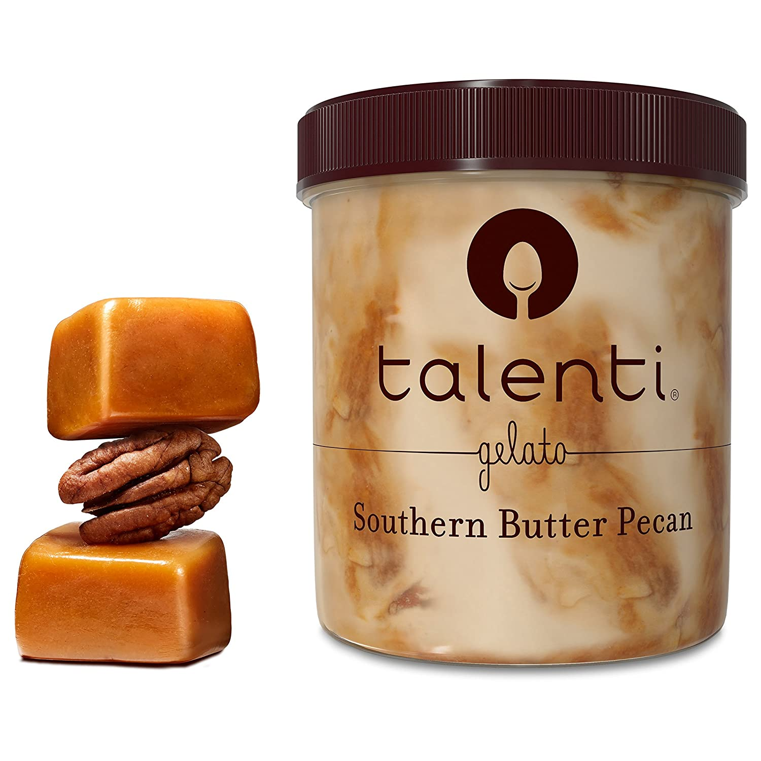 Talenti Ice Cream, Southern Butter Pecan 1 pint (Frozen): Amazon.com: Grocery & Gourmet Food