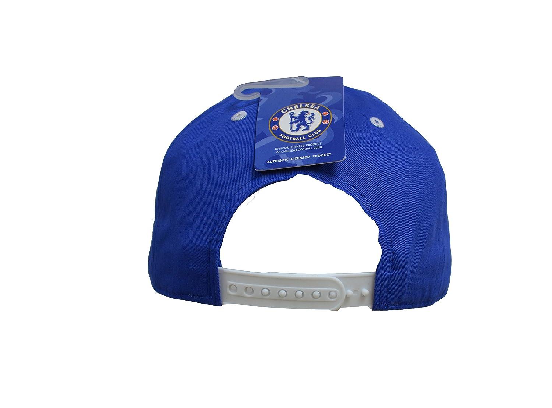 Chelsea Fc Snapback Adjustable Cap Hat White Blue New Season