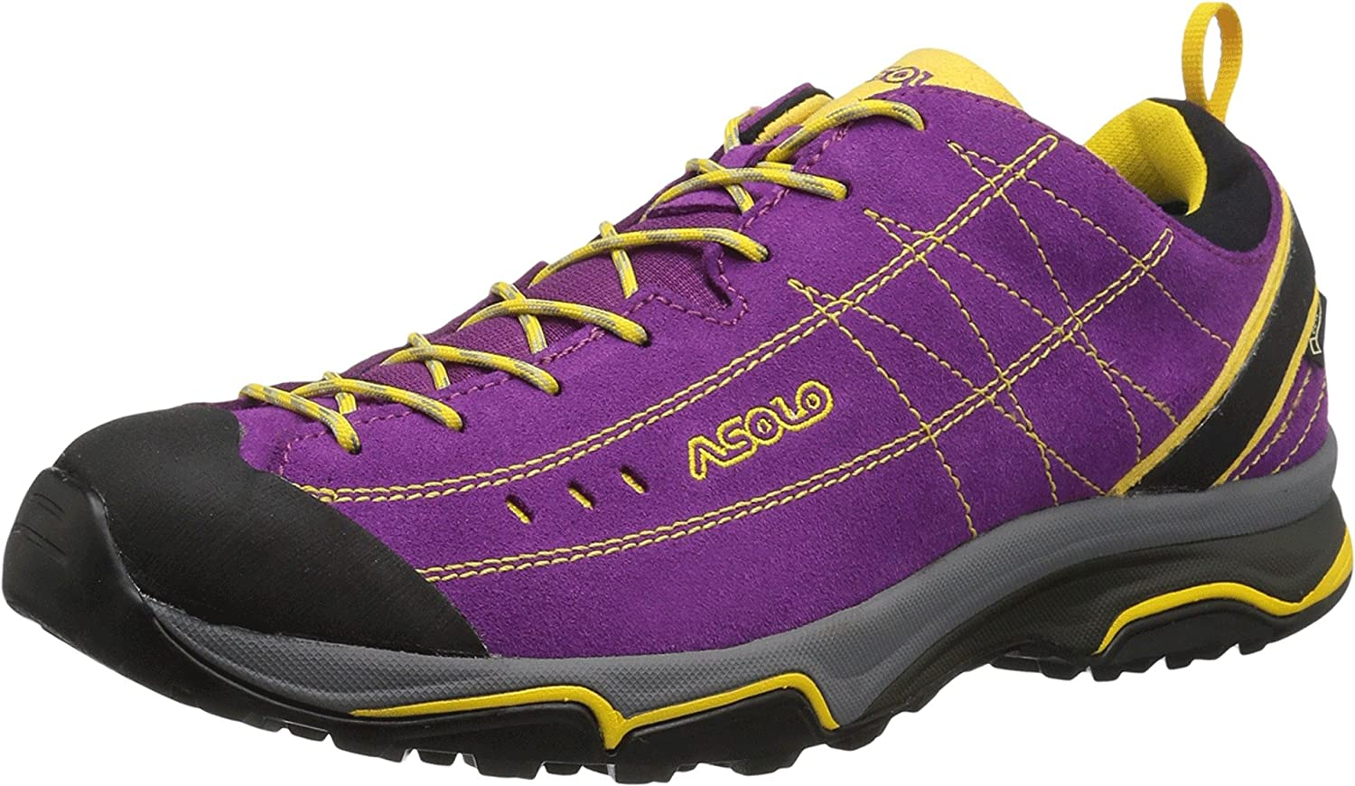 Asolo Women's Nucleon GV Hiking Shoes B01IFXJWWU 9 B(M) US|Verbena/Giallo