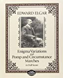 Elgar Edward Enigma Variations & Pomp & Circumstance Marches Full Sc (Dover Music Scores)