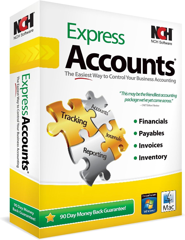 Express Accounts Accounting Software (PC/Mac)