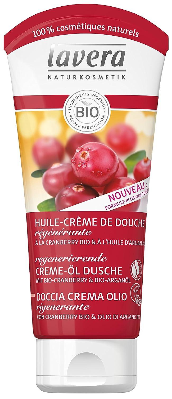 lavera Doccia Crema Olio Rigenerante ∙ Con cranberry Bio & Olio di argano ∙ Vegan ∙ Bio ∙ 100% Cosmetici Naturali ✔ 200 ml Laverana & Co. KG 106256