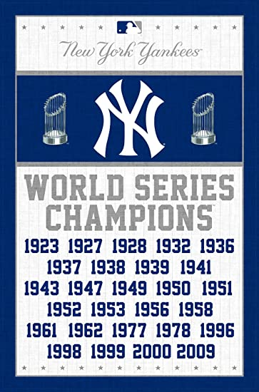 trends new york yankees champions wall posters 22u0026quot