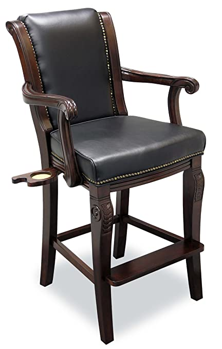 Fairview Game Rooms Executive Pool Table Chair (Cinnamon)