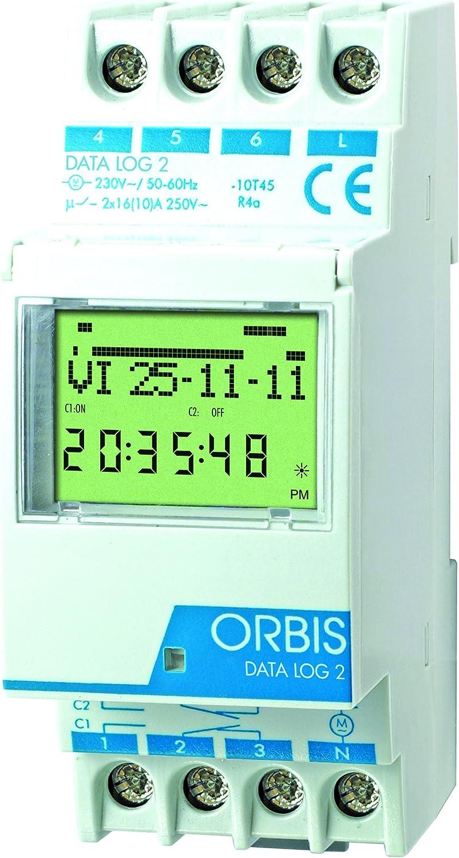 Orbis Data Log 2 12 V de distribución Digital de Temporizador, OB175072