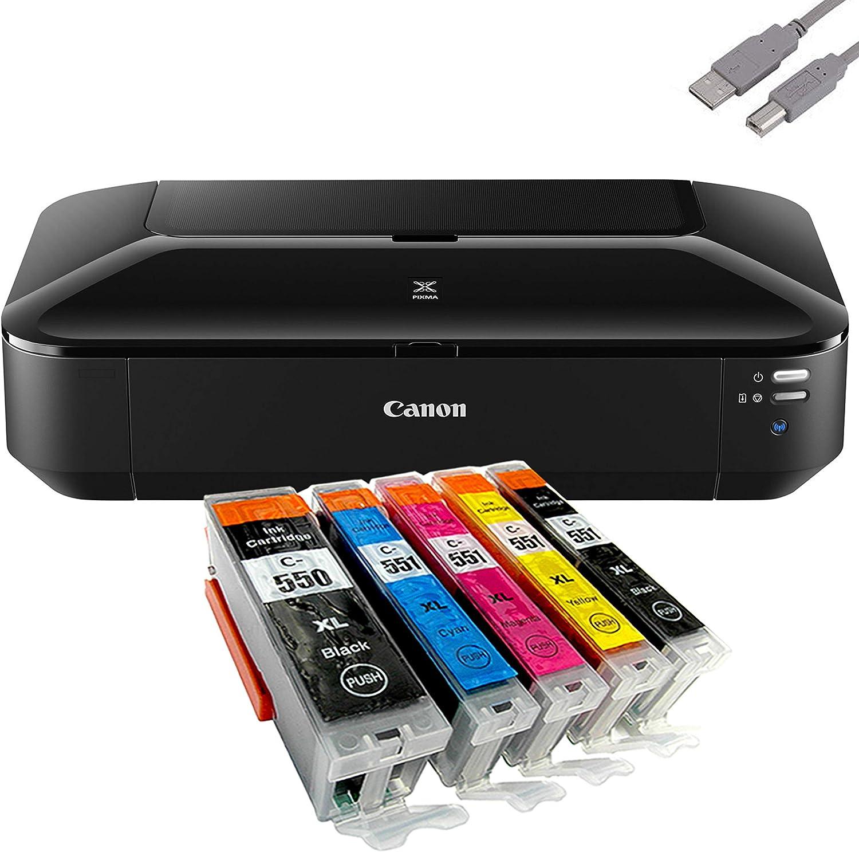 Canon Pixma Ix6850 A3 Tintenstrahldrucker 5 Komp Computer Zubehör
