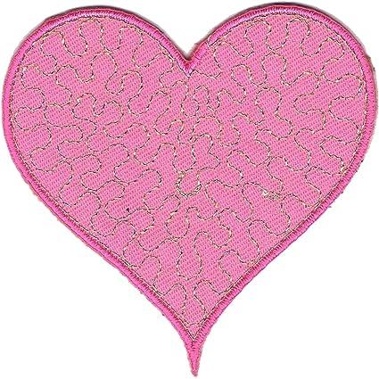 pink Set Mädchen verschiedene Größen Aufnäher // Bügelbild