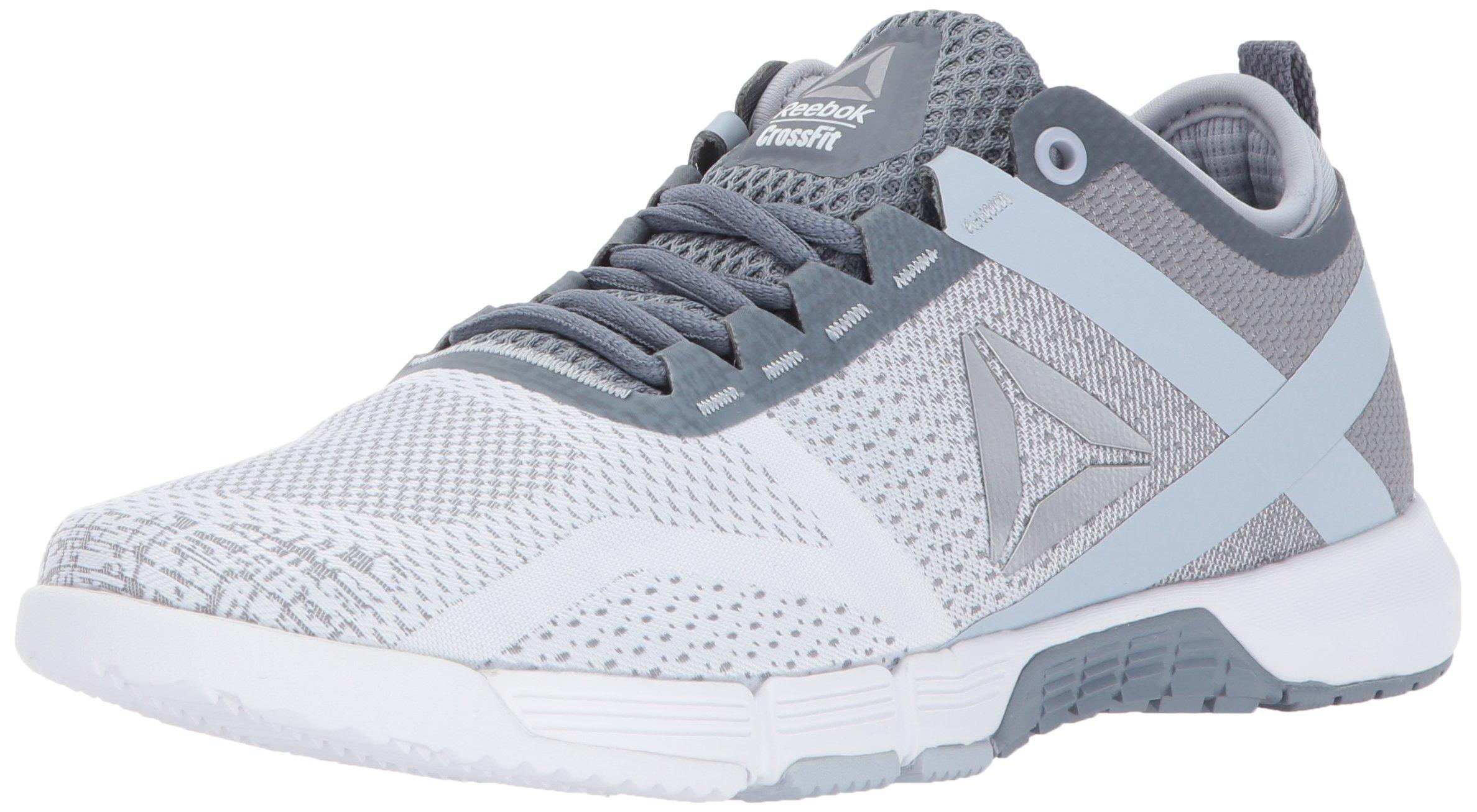 Reebok Women's Crossfit Grace TR Track Shoe, Asteroid Dust/White/Cloud Grey/Silver, 7.5 M US