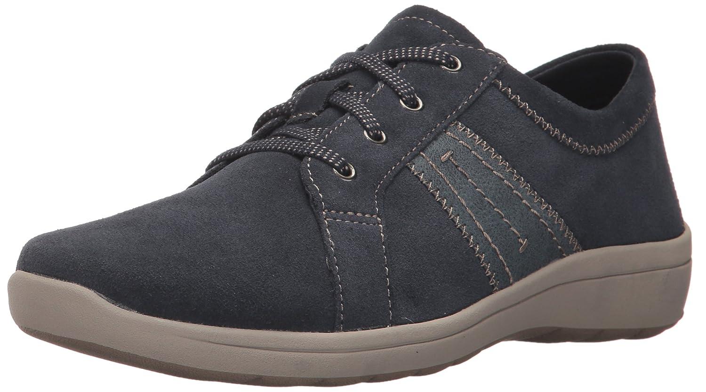 Easy Spirit Women's Litesprint Sneaker B071VZ4BCP 12 B(M) US|Dark Blue/Blue Suede