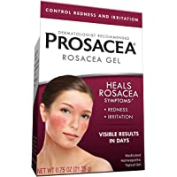 Prosacea—Medicated Rosacea Gel—0.75 Oz Tube—Multi-Symptom Relief of Bumps, Redness & Dryness from Rosacea—Calms and…
