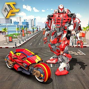 Amazon com: Flying robot bike : Futuristic Robot War: Appstore for