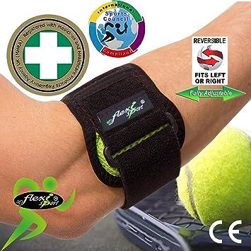 4DflexiSPORT - Brazalete para tratamiento del codo de tenista (anti ...