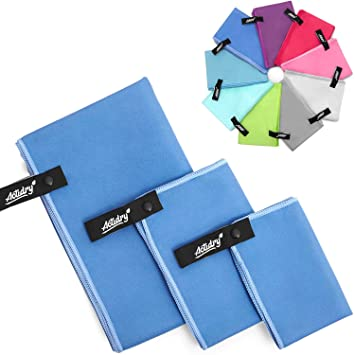 ACTiDRY Set de toallas de microfibra ActiDry 3+1 (70x140, 40x60, 30x40