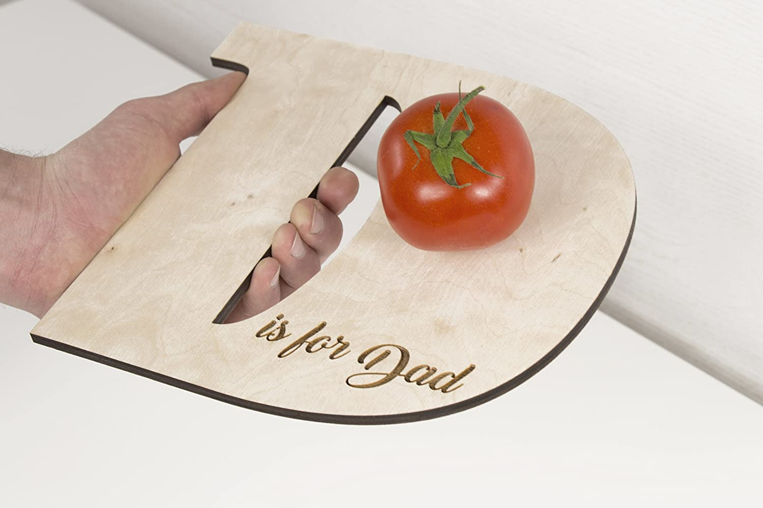 Dad Cutting Board - Wooden Cutting Board - Light Cutting Board - Chopping Board - Dad Gift - Fathers Day Gift - Cooking Gift