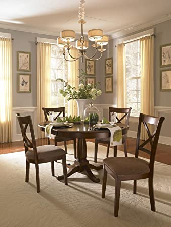 a america desoto 60 oval dining table with - Oval Dining Room