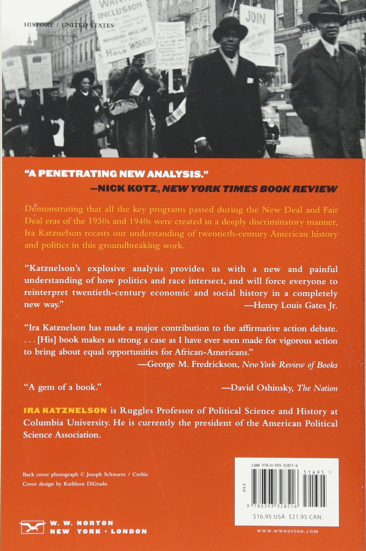 When Affirmative Action Was White: An Untold History Of Racial Inequality  In Twentieth Century Amer: Ira Katznelson: 8589399999994: Books  Amazon