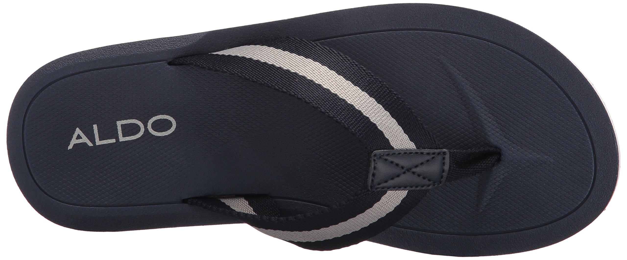 ALDO Men's Bortnick Flip Flop, Navy, 10.5 D US by ALDO (Image #8)