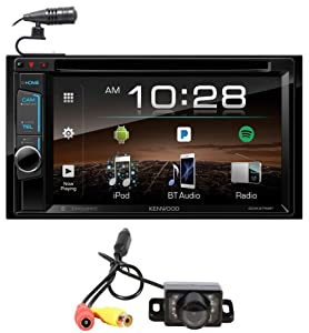 "Kenwood DDX375BT 6.2"" In-Dash Car DVD Bluetooth Receiver iPhone/Android+Camera"