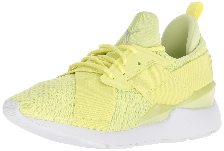 PUMA Women's Muse En Pointe WN's Sneaker B076KQQ2J2 7.5 B(M) US|Sunny Lime-puma White