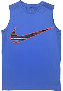 b6cd936d07f9 Amazon.com  Nike Boys  Hustle Sleeveless Basketball Shirt  Sports ...