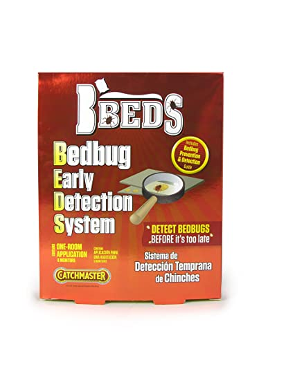 Amazon.com : Catchmaster 506 BBEDS Bedbug Early Detection System One Room Application, 6 Monitors Per Pack : Home Pest Control Traps : Garden & Outdoor