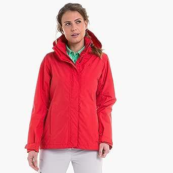 Schöffel Jacket Sevilla2 Chaqueta impermeable y cortavientos de material transpirable, ligera chubasquero para mujer. Mujer