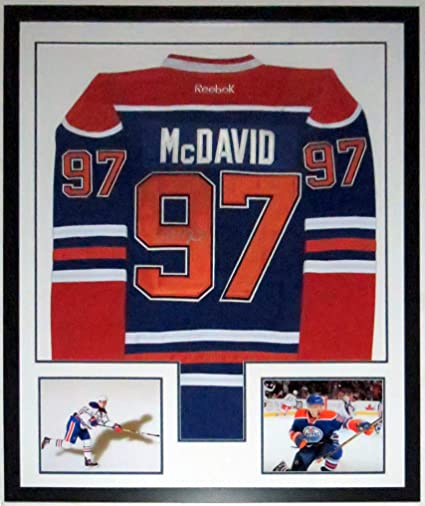 buy popular e71c3 cf1bb Connor McDavid Signed Authentic Edmonton Oilers Jersey - JSA ...