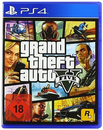a34187ce6 Grand Theft Auto V -  PlayStation 4   Amazon.de  Games